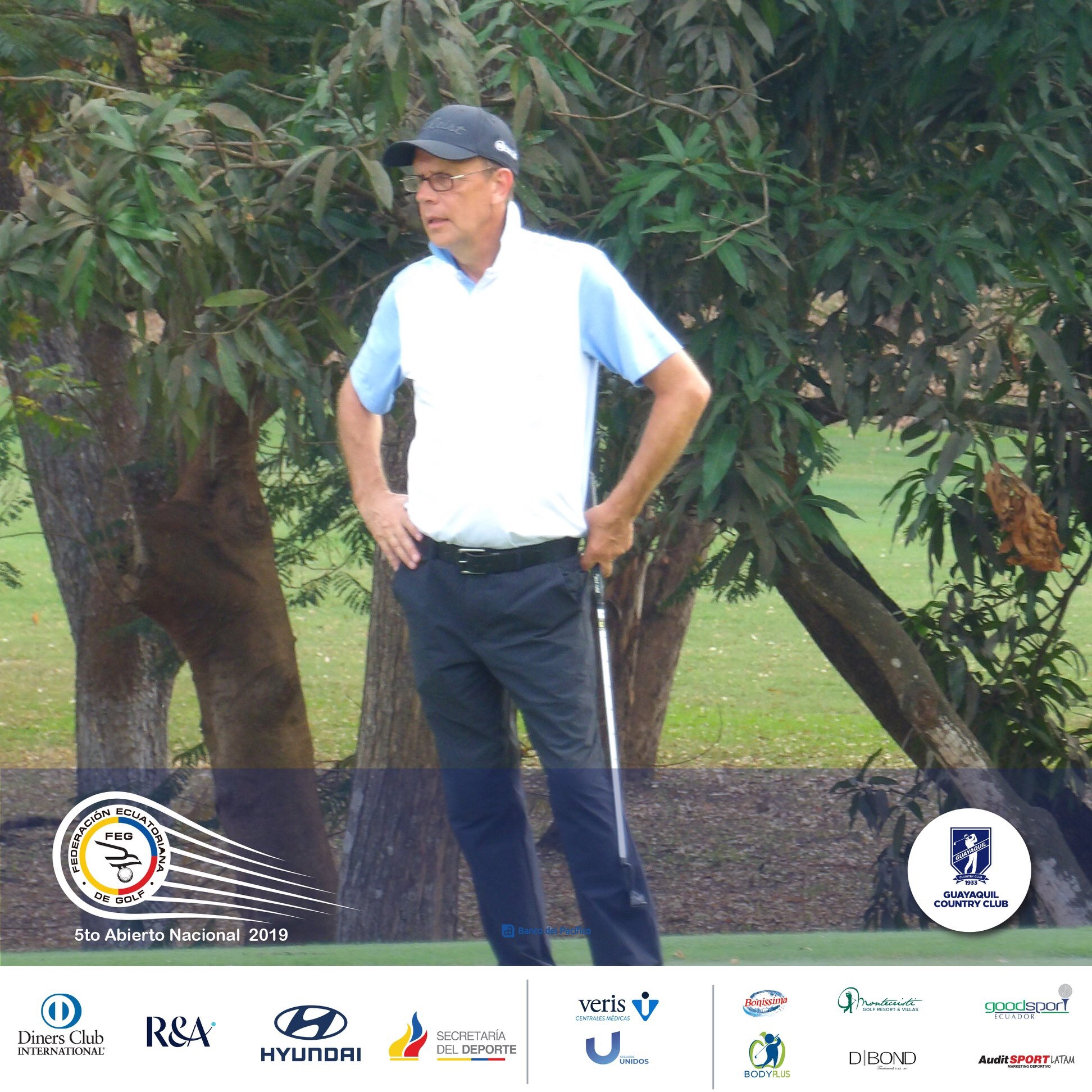 The Ecuadorian National Open of The Federacion Ecuatoriana de Golf in GCC Guayaquil Country Club 2019 | Eco. Lassi Pensikkala