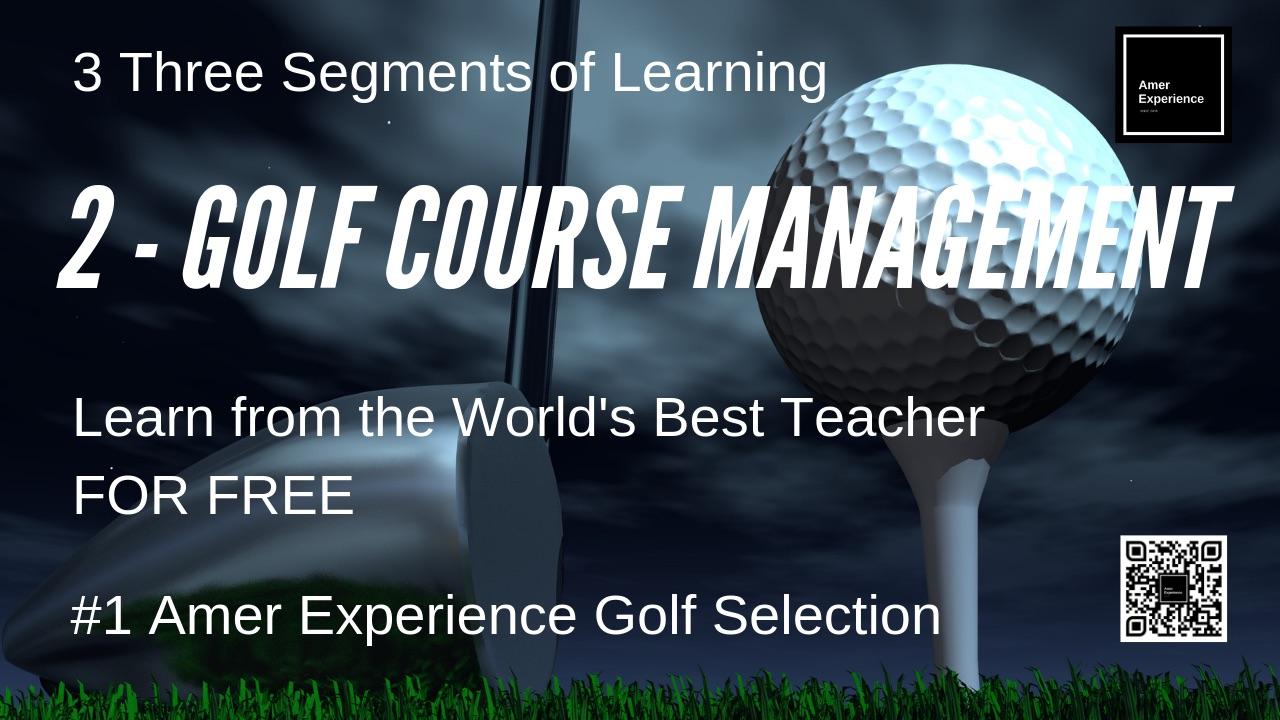 Golf Course Management Instruction Videos