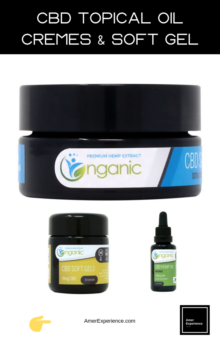 CBD Topical Oil, Cremes and Soft Gel | Buy Online The Best CBD
